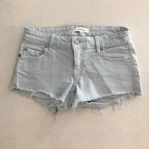 Aritzia Talula Light Blue Shorts